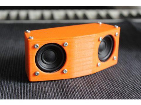 Basic portable Speaker 3D model