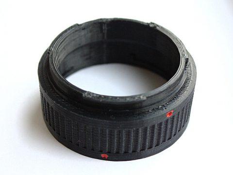 Canon EF extension tube set 3D model