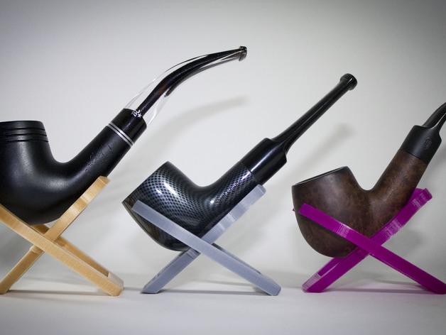 Foldable Pocket Smoking Pipe Holder | Free 3D models