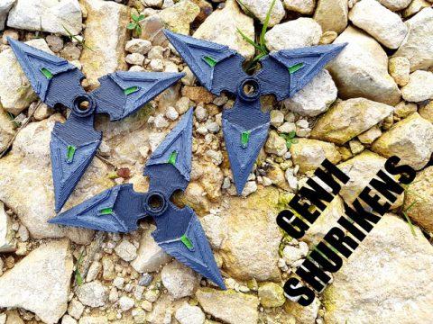 Genji Shuriken - Overwatch 3D model