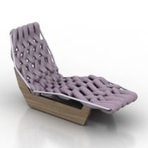 Lounge Biknit_BG698 Moroso 3d model