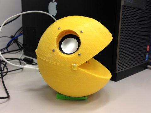 Pacman : Pac-Guy USB Stereo Speaker 3D model