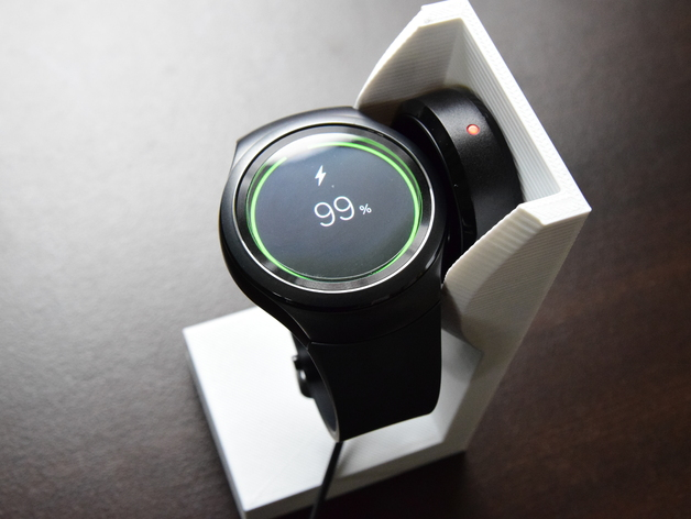 Samsung Gear S2 Stand Free 3d Models