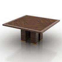 Table GIORGIO COLLECTION Paradiso Art6010 3d model