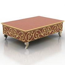 Table Roberto Ventura 3d model