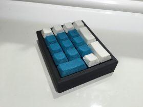 Ten Key Pad Keyboard - Cherry MX Switches 3D model
