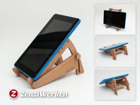 Tilting Tablet Stand cnc/laser 3D model