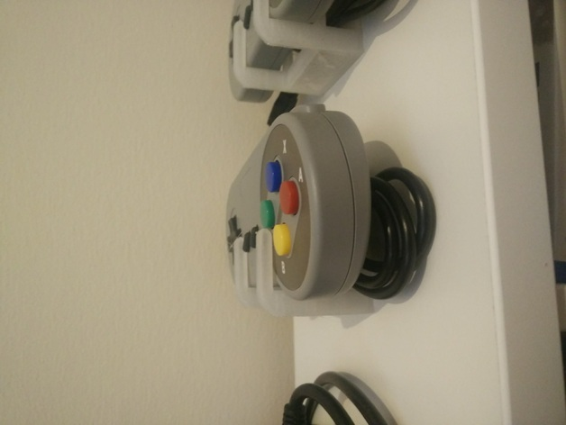 3D Videogame controller holder model