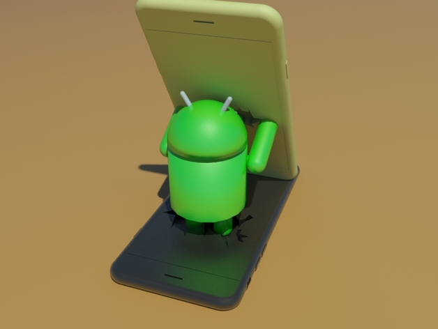 Android Smartphone Holder Free 3d Models