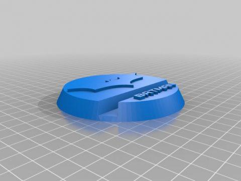 Batman smartphone stand 3D model