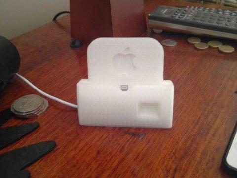 iPhone 6s plus dock cover 3D model