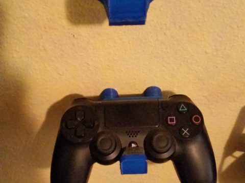 Ps4 playstation controller wall mount 3D model