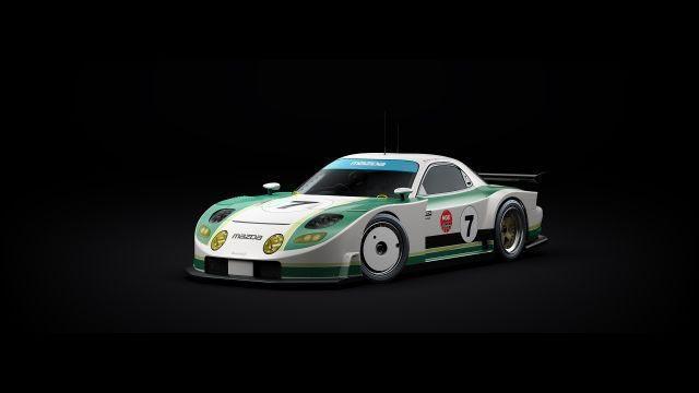 1996 Mazda RX7 3D model