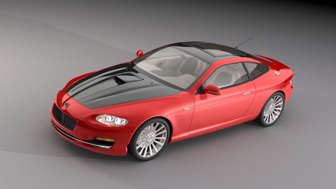 3D Car Sample 3D model