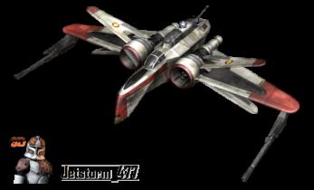 Star Wars ARC-170 Fighter 3D model