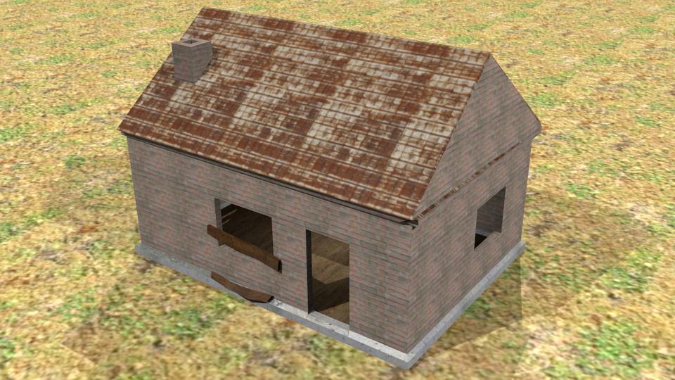 Abandoned House Free 3d Models