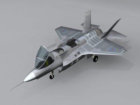 Aircraft X-35 3D model