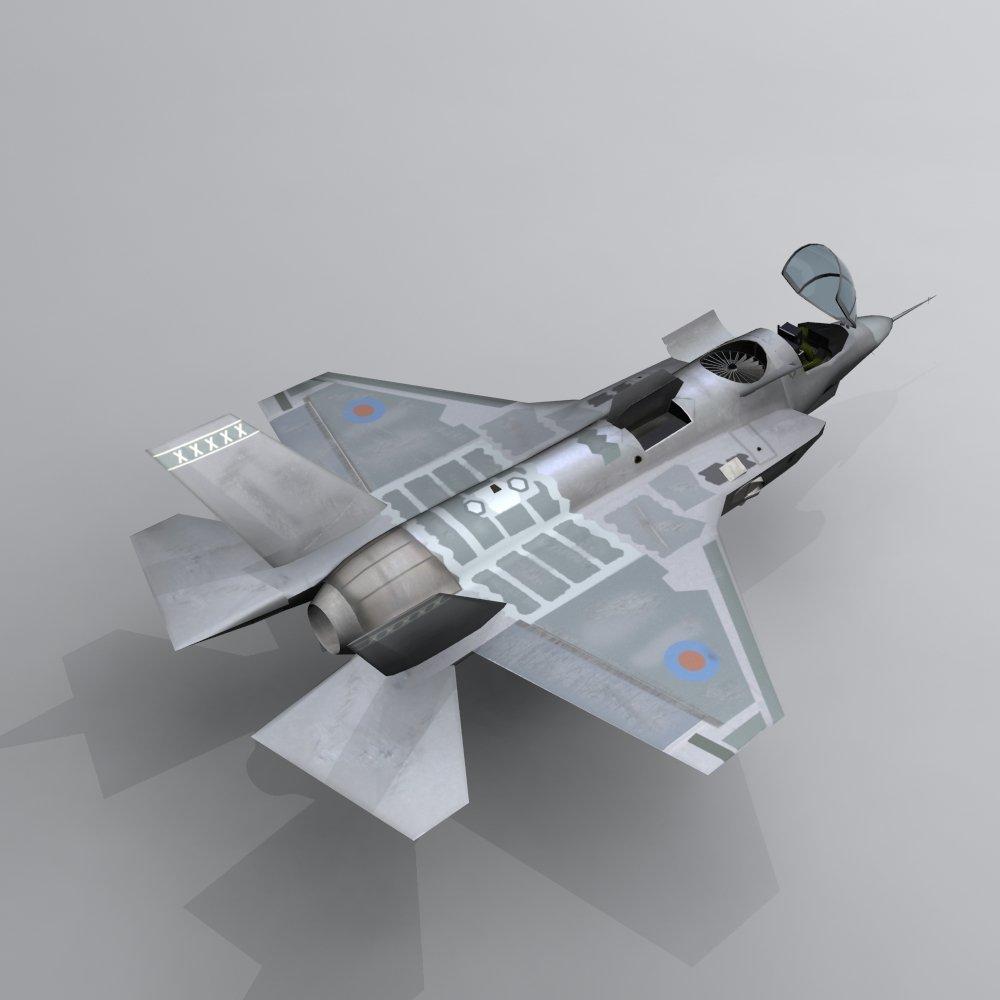Aircraft X-35   Free 3D models