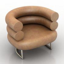 Armchair ClassiCon BIBENDUM 3d model