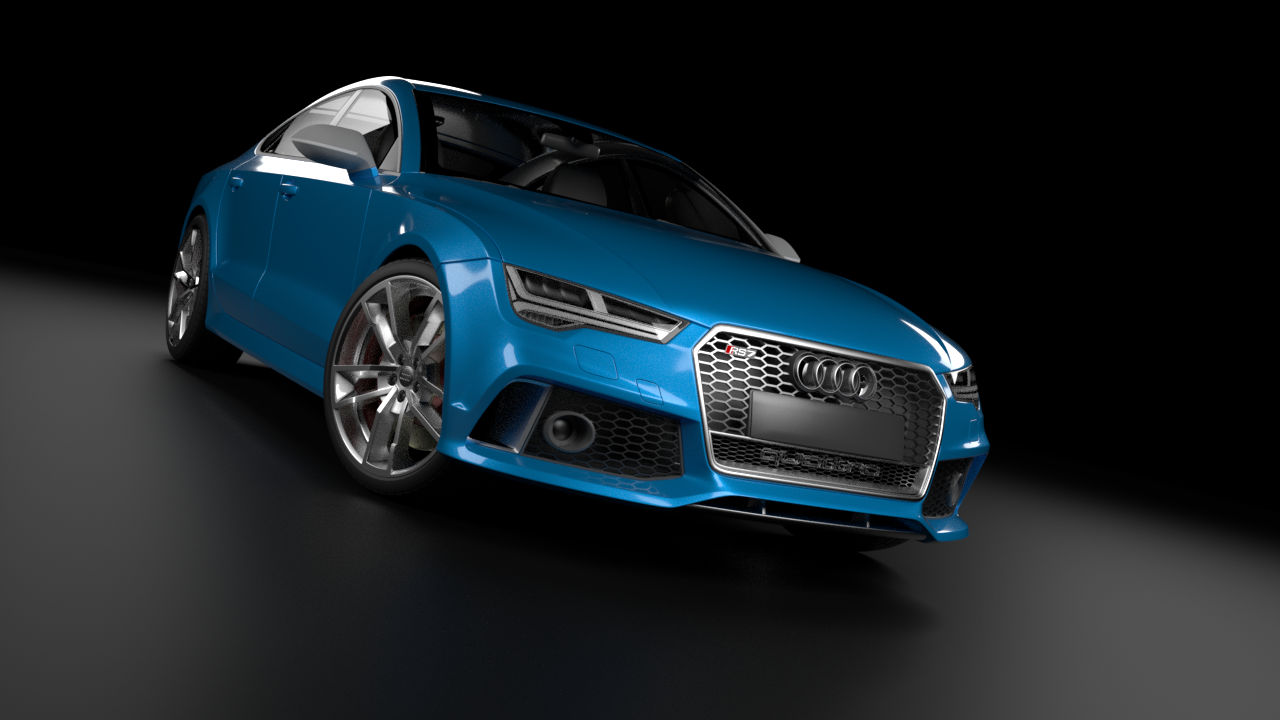Audi RS7 Sportback Perfomance 3D model
