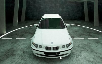 BMW 3 series COMPACT 3D model
