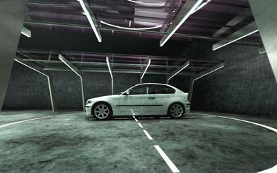 3D BMW 3 series COMPACT model