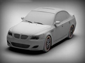 BMW M5 3D model