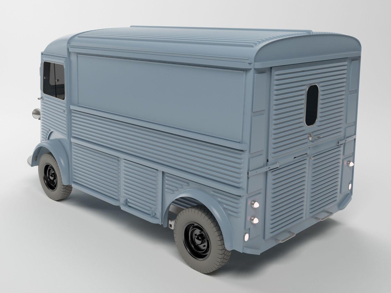 3D CITROEN LE TYPE H model