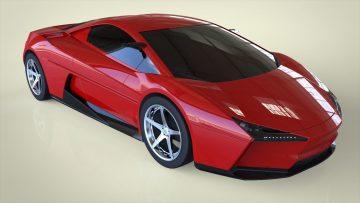 CONCEPT SPORTS CAR 3D model