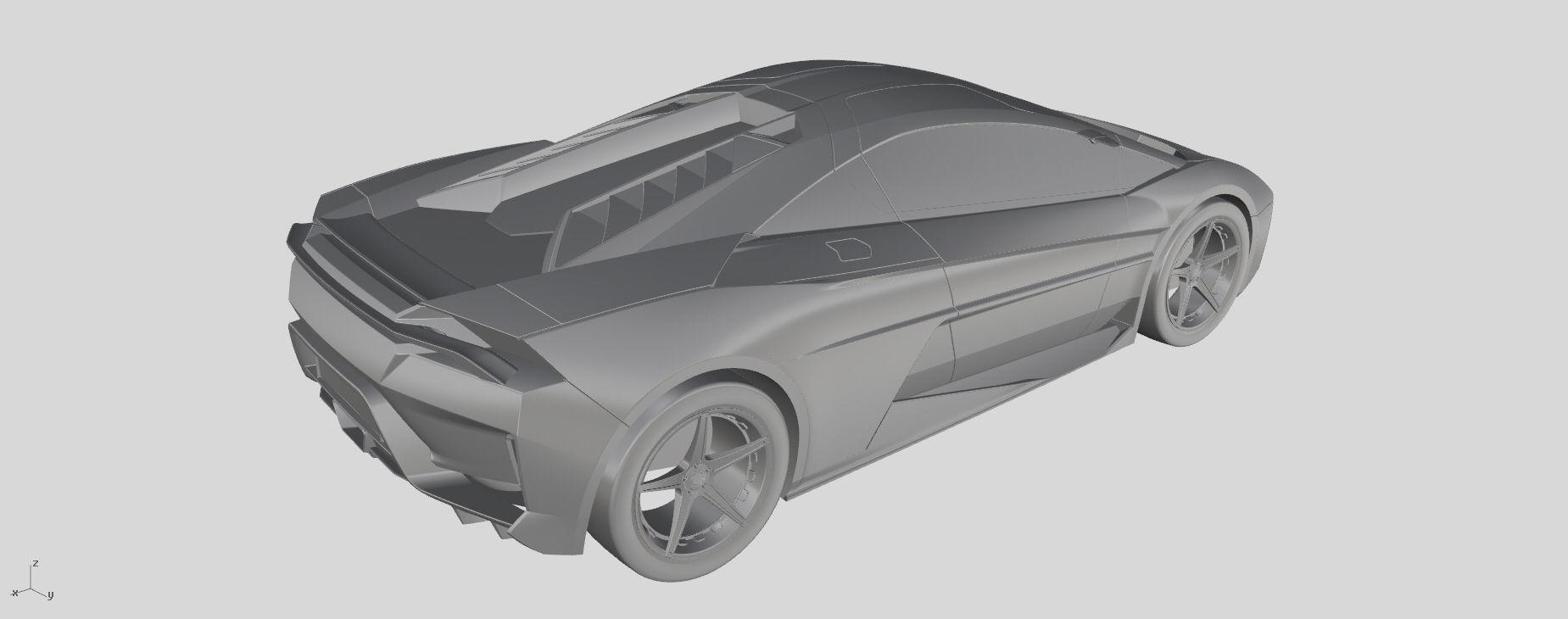 CONCEPT SPORTS CAR | Free 3D models