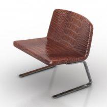 Chair C-Chair Moroso 3d model