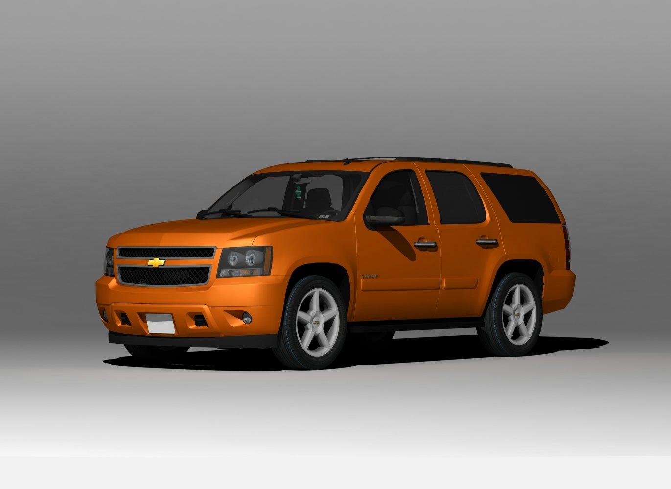 Chevrolet Tahoe 2008 Free 3d Models