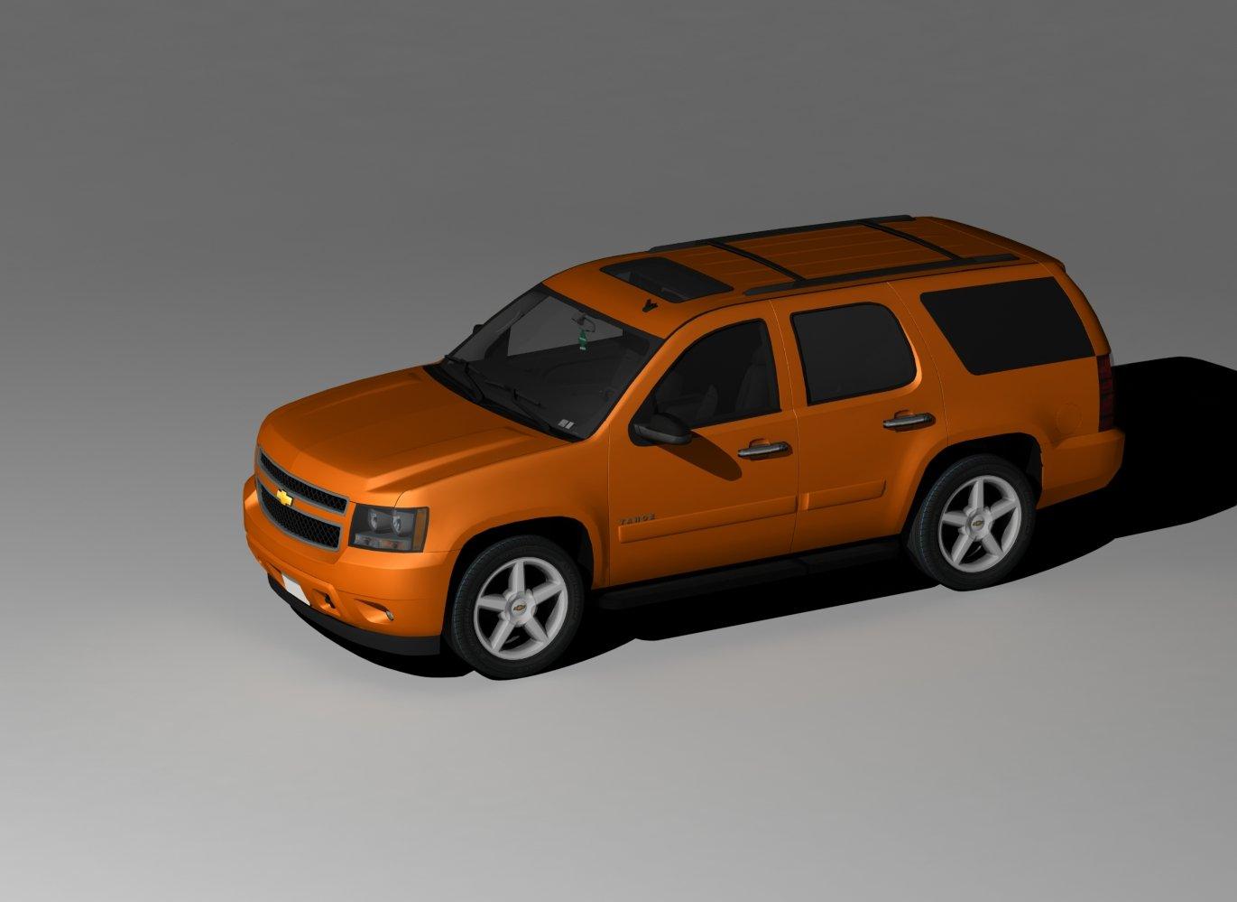 Chevrolet Truck Models >> Chevrolet Tahoe 2008 | Free 3D models