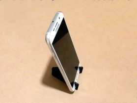 Customizable Foldable Phone Stand 3D model