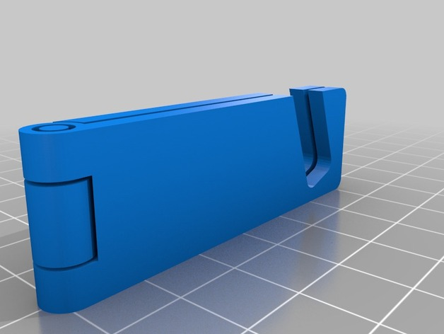 3D Customizable Foldable Phone Stand model