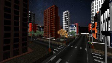 Dark City 3D model