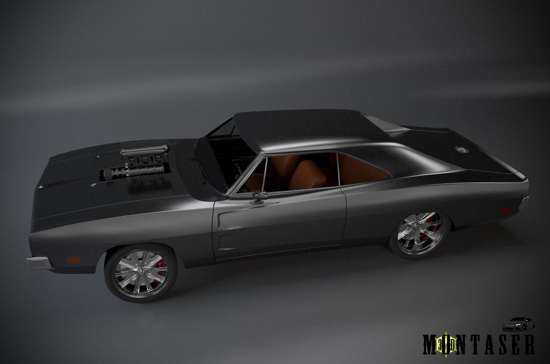3D Dodge 69 custom model