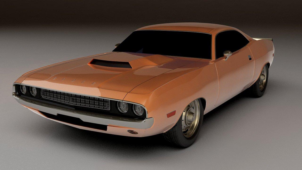 Dodge Challenger 1970 Downloadfree3d Com
