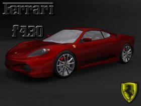 Ferrari f430 3D model