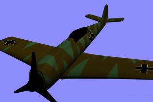 3D Focke Wulf 190 model
