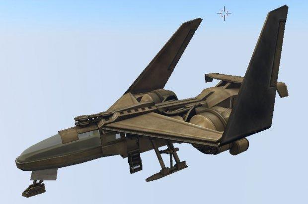 Futuristic combat jet   Free 3D models