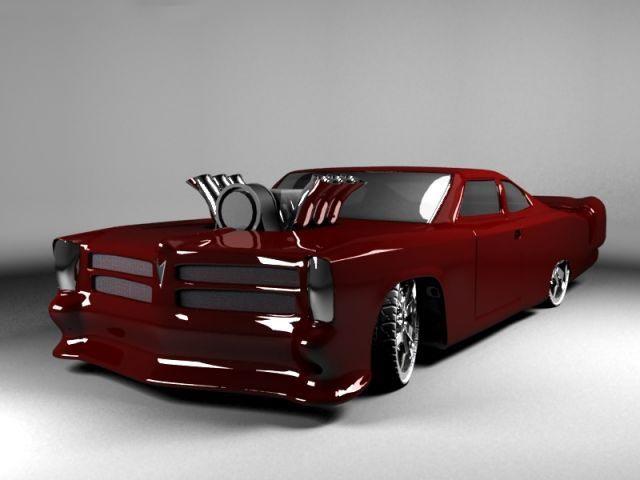 GTO 3D model