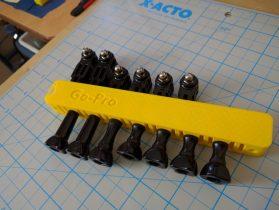 Go Pro Hardware Organizer 3D model