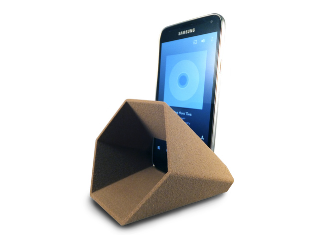 3D Hex Phone Sound Amplifier model