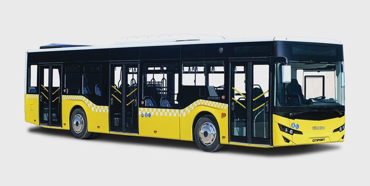 Isuzu Citiport Bus 3D model