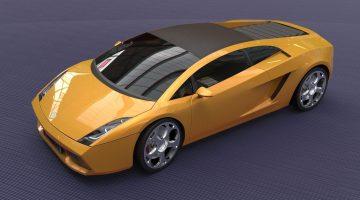 3D Lamborghini Gallardo 2005 model