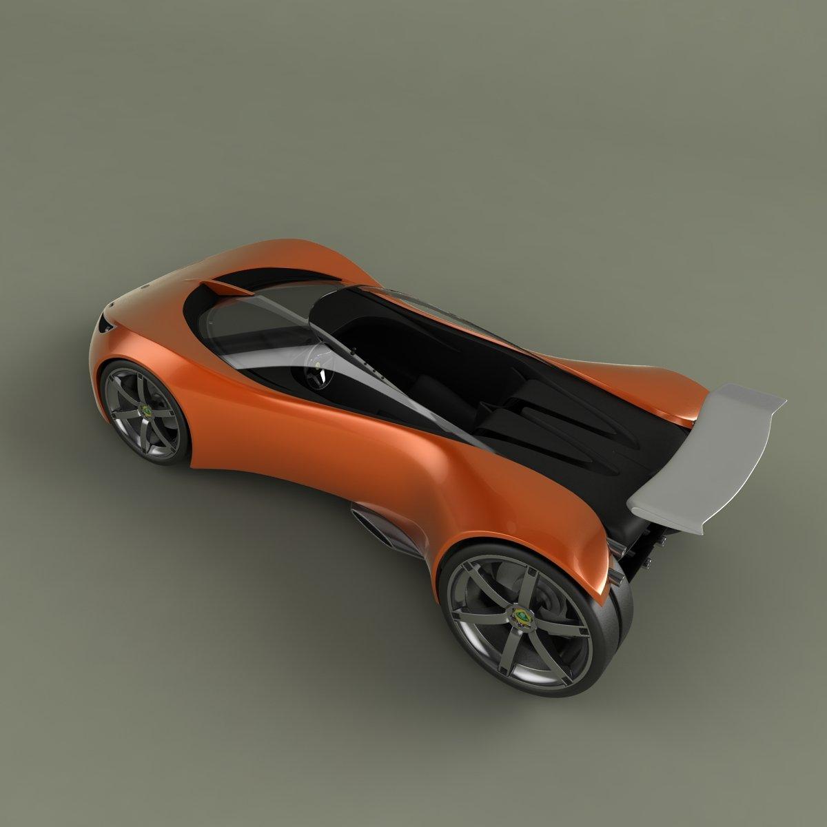 Lotus Hot Wheels Concept Downloadfree3d Com