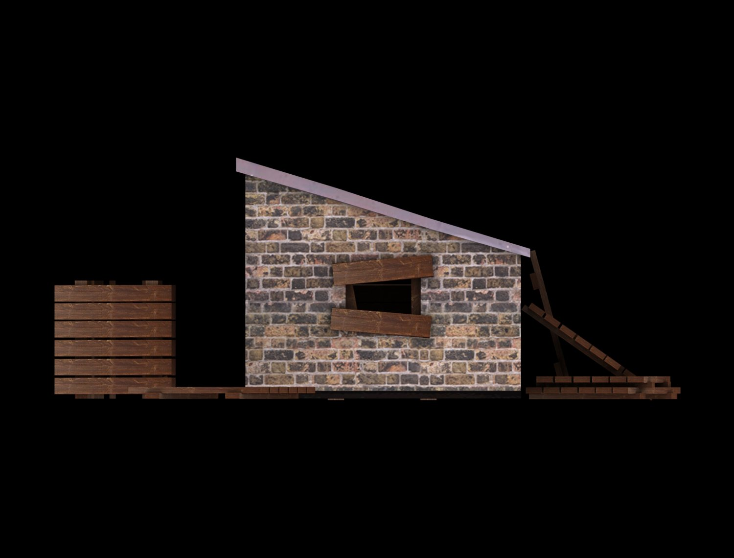 Low Poly Building Collection Free 3d Models