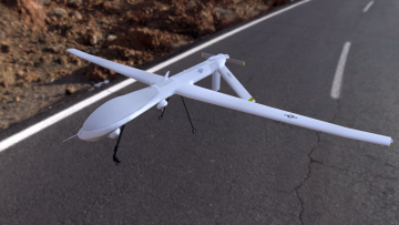 MQ-1 Predator 3D model