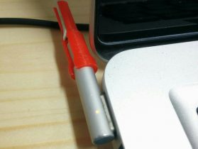 Macbook cable protector 3D model